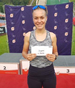 Amelie Thannheimer gewinnt Pokalspringen 2021