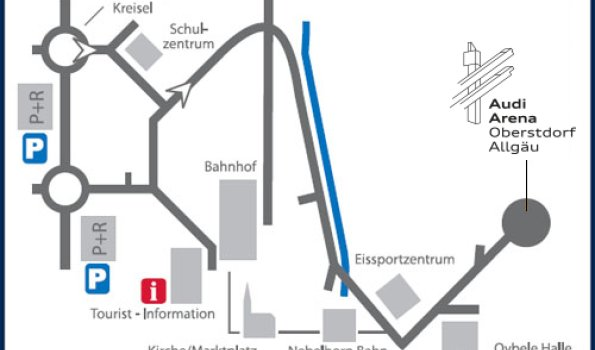Anfahrt Audi Arena