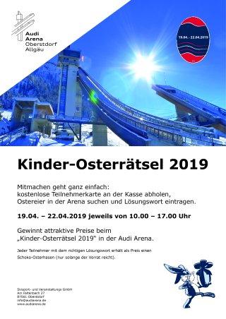 Aushang Osterrätsel 2019