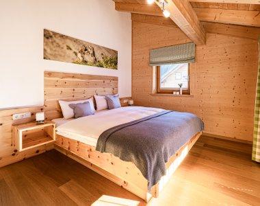 Hell, modern und gemütlich - die Schlafzimmer in der Auszeit