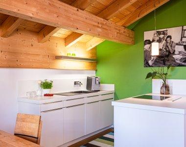 Voll ausgestattete Küchen in jeder Ferienwohnung