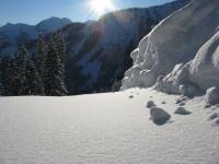 Schnee... pur...!