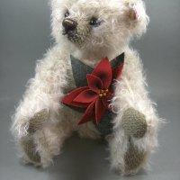 Steiff 035463 Teddybär Poinsettia