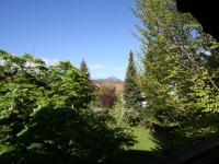 Blick vom Balkon nach Westen