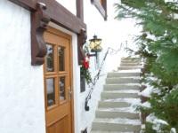 Eingang zur Wohnung Nebelhornblick