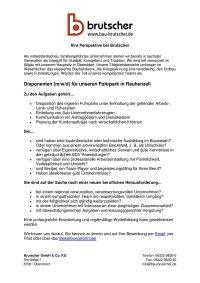 Disponent Rauhenzell (m/w/d)