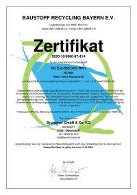 RC-Mix Zertifikat