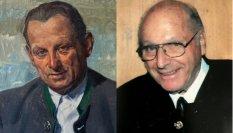 Ferdinand Brutscher senior (l) und junior (r)