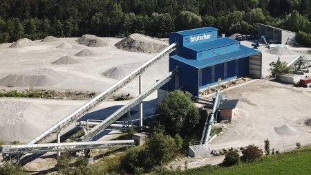 Kieswerk, Hafenthal