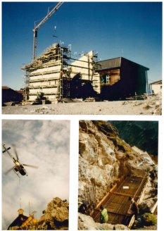 Bau Nebelhornbahn