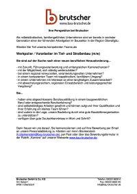 Werkpolier Vorarbeiter Tief-und Straßenbau (m/w/d)