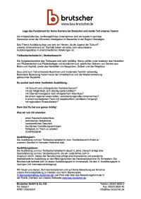 Ausbildung Tiefbaufacharbeiter Strassenbauer (m/w/d)