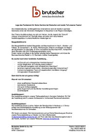 Ausbildung Baugeraetefuehrer (m/w/d)