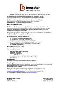 Ausbildung Beton-und Stahlbetonbauer (m/w/d)