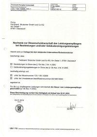 Ferdinand Brutscher USt. 1 TG - 02.01.2022