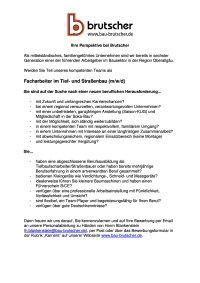 Facharbeiter Tief-und Strassenbau (mwd)