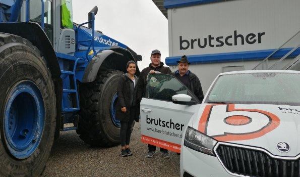 Übergabe Fahrzeug an Michael Dieterich
