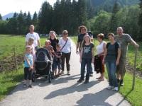 auf dem Weg zur Alpe