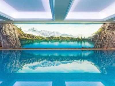 Schwimmbad auf 10x18m