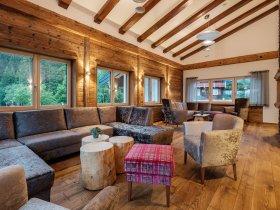 Loungebereich Bergchalet Baad