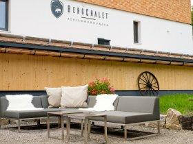 Loungebereich im Garten