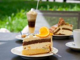 Süße Leckereien im Café Baad Grund