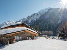 Winterwunderland in Baad