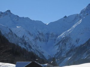 Winterlandschaft vor unserer Haustür!