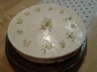 hausgemachte Holunderblüten Torte