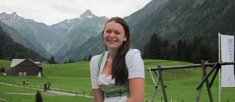Kathi Rietzler die Chefin des Hauses