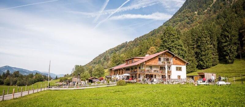 Der Berggasthof Riefenkopf