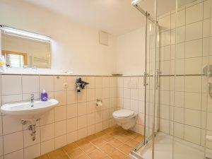 Ferienwohnung Wildegundkopf - Badezimmer