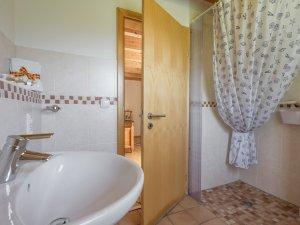 Zimmer Trettachspitze - Badezimmer