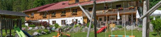 Berggasthof Riefenkopf mit Kinderspielplatz