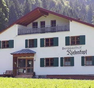 Nordansicht des Berggasthof