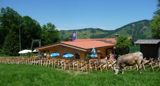 Berghütte Schwändle im Sommer