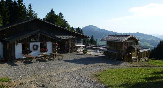Idyllisch: die Hündle Berggaststätte