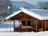 Ferienhaus Almrausch im Winter