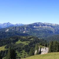 Bergblick Wandergebiet Grasgehren