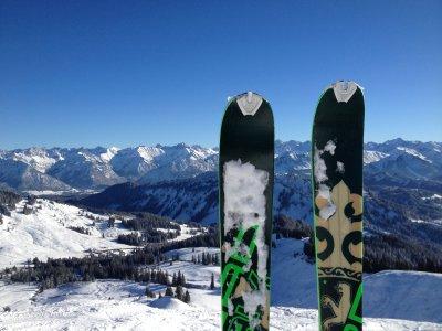 Winterblick vom Riedbergerhorn