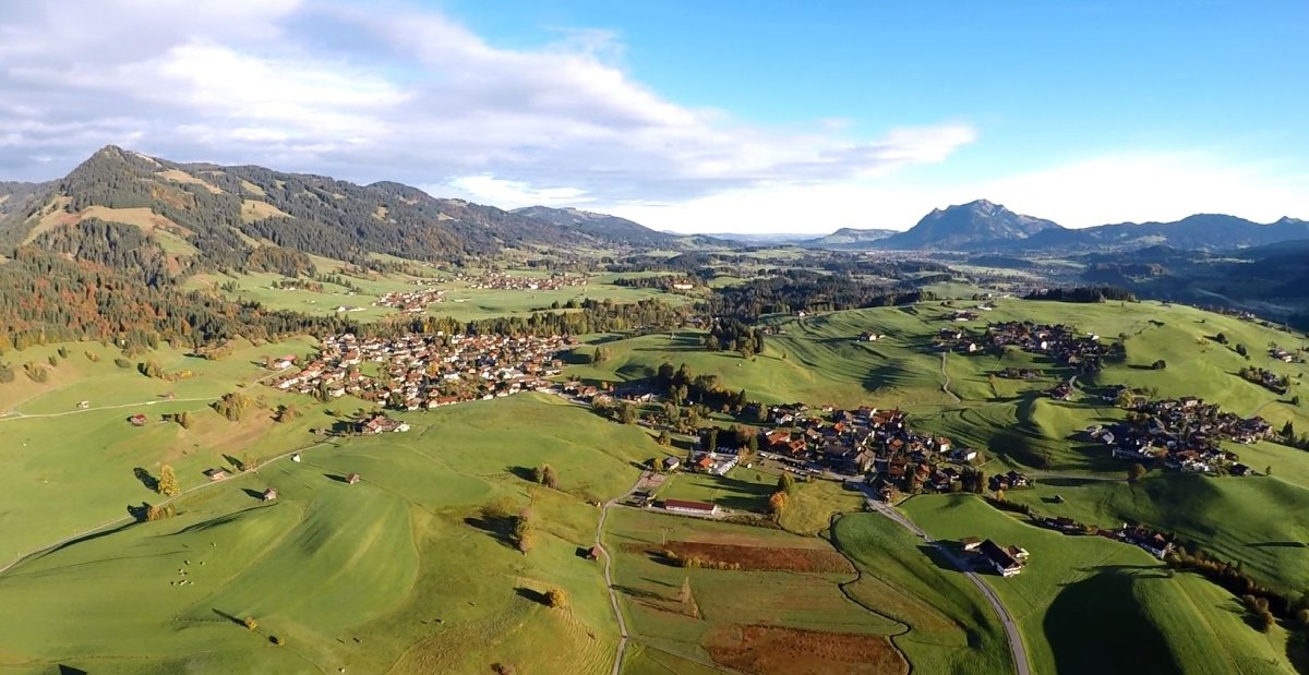 Luftaufnahme Obermaiselstein