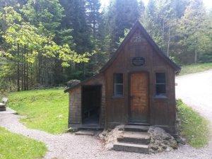 Hölzernen Kapelle