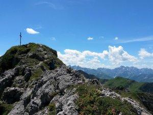 Gipfelkreuz Entschenkopf