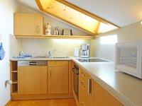 vollständig eingerichtete Küche