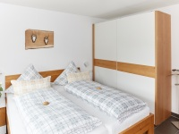 Schlafzimmer 2 mit Doppelbett