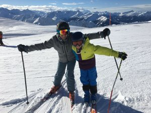 Nebelhorn - Skifahrer