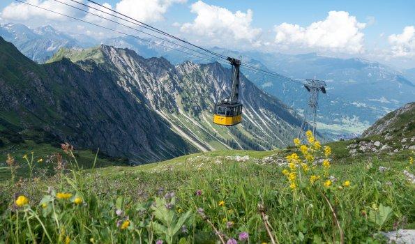 Sommerliche Nebelhornbahn