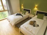 Bergzeit Ferinwohnungen Oberstdorf zweites Schlafzimmer B1