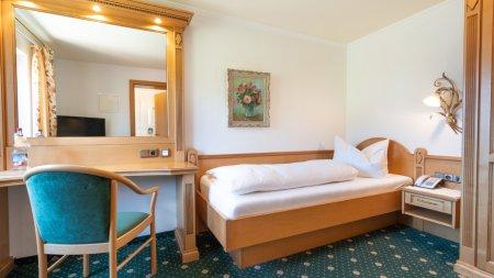 Einzelzimmer Herrenberg im Heuwirt des Berwanger Hof - 4 Sterne Hotel im Allgäu