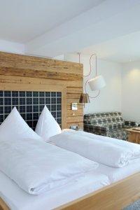Doppelzimmer Himmeleck im Heuwirt des Berwanger Hof - 4 Sterne Hotel im Allgäu